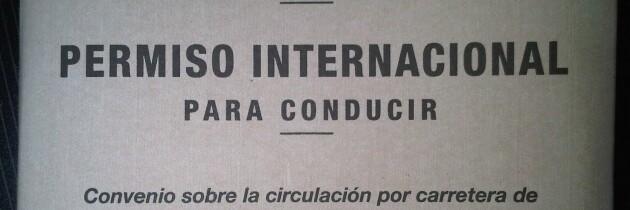 El Permiso Internacional de Conducción