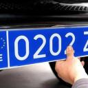 Nueva Placa de Matrícula de los Taxis