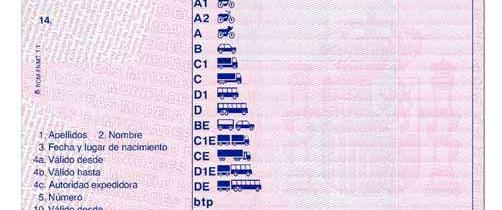 El Permiso y la Licencia de Conducción