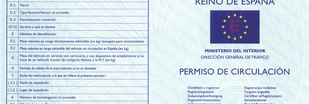 Documentos que se Deben LLevar en el Vehículo