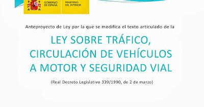Las Claves de la Nueva Ley de Tráfico